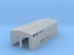 Z Scale Locomotive Shed Without Doors/Roof Details