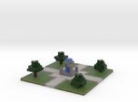 60x60 Fountain (2mm series)