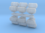 1:96 scale Life Boat Canister Stacked in set of 6