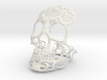 Skull sculpture Tribal Sugar 100mm