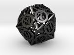 Steampunk Gear d20