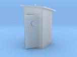 HO-Scale Slant Roof Outhouse