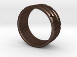 Pentomino ring, 60mm circumference