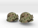 US helmet wwii pacific for LEGO already painted