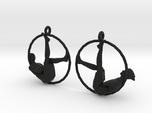 """earrings """"Hoop girl1"""""""