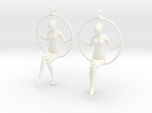 "earrings ""Hoop girl 2"""