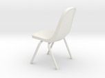 1:24 Plastic Scoop Chair (Not Full Size)