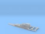 HMS Lion Aft Super Structure inc Details. 1/700 Sc
