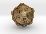Dr. Who Gallifreyan D20 (20mm)