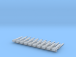 10 Roman power blades (gladius) for 28mm minis