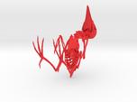 Bare-Fronted Hoodwink Skeleton