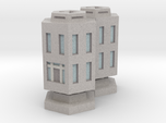 WHAM- Stackable Buildings w/ Rubble x2 (1/285th)