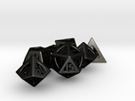 Thoroughly Modern Dice Set with Decader