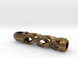 Tritium Lantern 2A Paracord (Silver/Brass/Plastic)