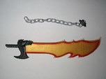 Action Figure Weapon: Jagged Sword