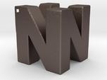 N64 Logo Pendant - Hollow