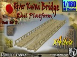 1-160 X4 Units Bridge River Kwai Platforms