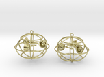 The anemometer earrings