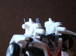 Sunlink - Prime: Wheeljacked Cannons w/ 5mm Side P