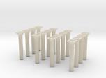 00 scale Underground station Roof Support Columns