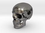 25mm 1in Bead Human Skull Pendant Crane Schädel