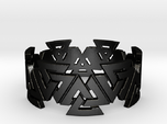Valknut Ring. Sizes available  in links below.