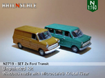SET 2x Ford Transit (N 1:160)