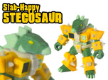 Stab-Happy Stegosaur (Color Sandstone)