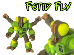 Fetid Fly (Colored Sandstone)