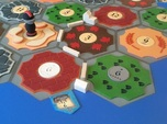 Catan Hex Tile Desert 79mm
