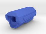 Pistol SciFi Airsoft Muzzle Compensator (14mm Self