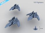 HOMEFLEET Interceptor Fighter Group - 12 Fighters