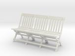 1:24 Vintage Folding School Chair, Triple