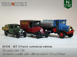 SET 3x Historic commercial vehicles (N 1:160)