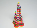 Rainbow Stalagmite - imaginary rock collection