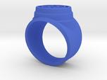 Blue Lantern Power Ring Short and Leveled Sz10.5