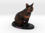 Custom Cat Figurine - Sugar