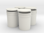 1:6 Scale 5 gal Buckets 4X set