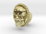Skull cuff link - 25mm