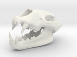 3D Printed Lion Skull