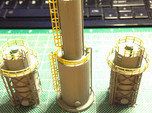 Oil Tank Tower Z Scale