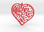 Heart Maze Pendant 3