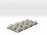 12 Small Tents for 6mm, 1/300 or 1/285