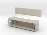 E-cig Mod braille (single 18650) battery