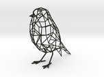 Bird wire frame model (with eyes)