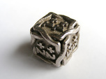 'Twined' Dice D6 MTG +1/+1 Counters die