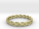 Ring of braided rope - size 8