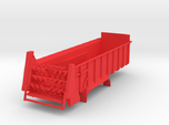 1/64 Scale Horizontal Beater Manure Spreader long