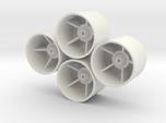 Losi Micro 1/24 Truggy Dish Wheels