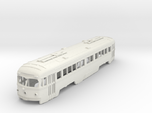 S Scale Double-End PCC Red Arrow Trolley Body